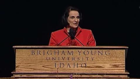 "Thumbnail for entry Anne C. Pingree ""Three Principles of Prayer"""