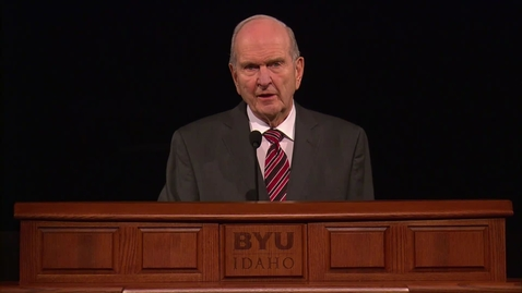 """Thumbnail for entry Russell M. Nelson - """"The Lord Uses the Unlikely to Accomplish the Impossible"""""""
