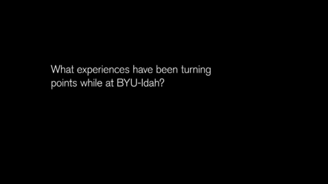 Thumbnail for entry Elizabeth Eaton: BYU-Idaho Student Learning Outcomes Project