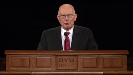 "Thumbnail for entry Dallin H. Oaks ""Living in Challenging Times"""