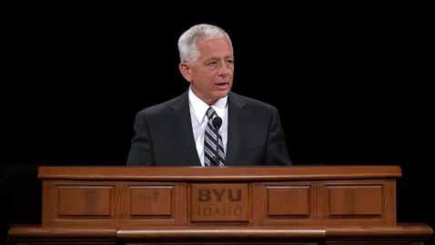 "Thumbnail for entry Garth V. Hall - ""Understanding and Respecting Priesthood Keys"""
