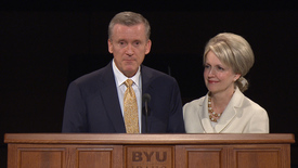 """Thumbnail for entry Elder and Sister Kevin R. Duncan - """"Hearts, Love, and the Temple"""""""
