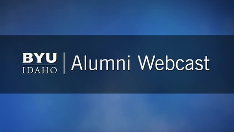 Alumni Webcast with Ross Baron