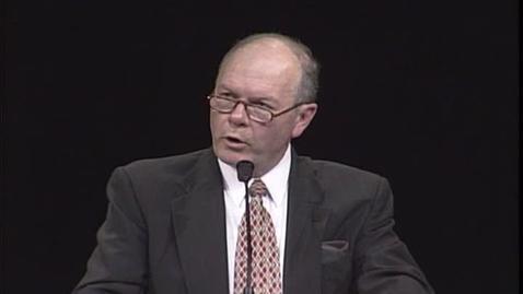 "Thumbnail for entry Robert L. Millet ""Live Christ Like Life"""