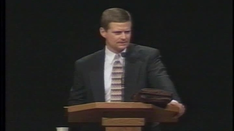 """Thumbnail for entry David A. Bednar """"Understanding the Importance of Scripture Study"""""""