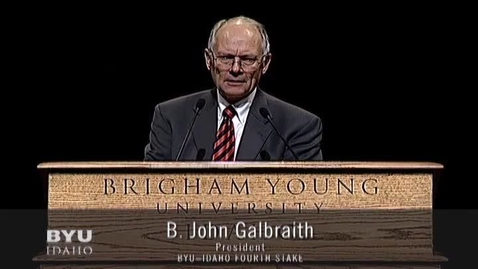 Thumbnail for entry B. John Galbraith