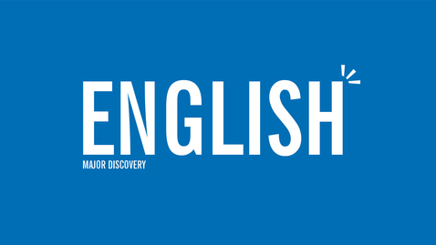 Thumbnail for entry Major Discovery: English