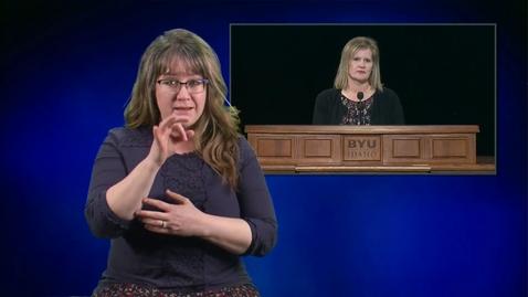 """Thumbnail for entry ASL: Brenda Reeser - """"But If Not"""""""