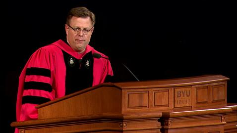 Thumbnail for entry Convocation President Clark Gilbert Fall 2016