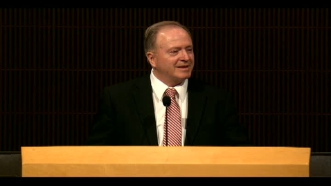 "Thumbnail for entry Elder Lynn G. Robbins ""All Employee Meeting Presentation"""