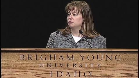 "Thumbnail for entry Beth Baldwin ""We Talk of Christ, We Rejoice in Christ"""