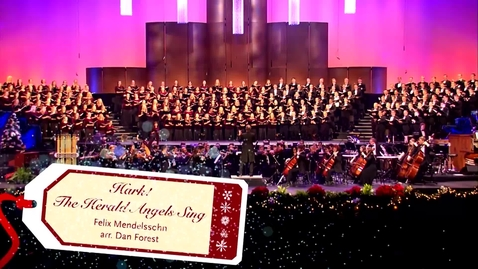 """Thumbnail for entry """"Hark Herald Angels"""" - 2018 Christmas Concert"""