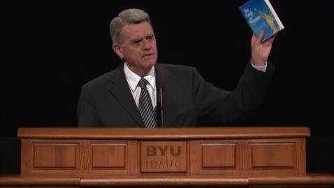 """Thumbnail for entry Gary Coleman - """"Come Unto Christ Through the Book of Mormon"""""""