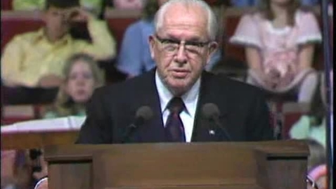 """Thumbnail for entry """"The Book of Mormon Is the Word of God"""" by President Ezra Taft Benson"""