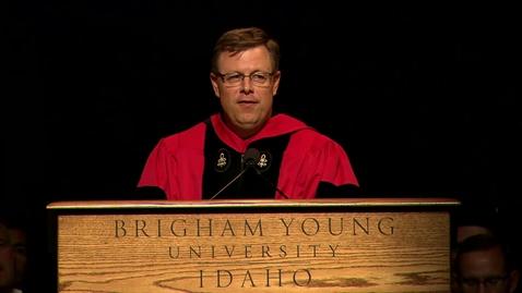 Thumbnail for entry Convocation President Gilbert Spring 2016