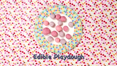 Thumbnail for entry Family Activity - Edible Playdough