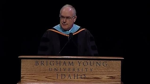 Thumbnail for entry Elder Paul V. Johnson - Agricultural and Life Science Convocation Remarks