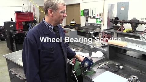 Thumbnail for entry Wheel Bearing Service