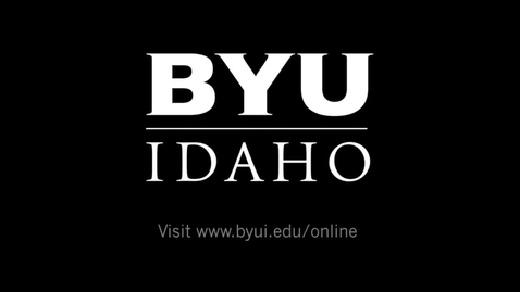Thumbnail for entry Online Student in Mexico at BYU-Idaho