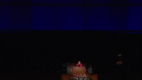 """Thumbnail for entry President Clark G. Gilbert """"Commencement Remarks"""""""