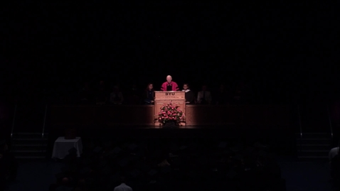 "Thumbnail for entry Elder Kim B. Clark: ""Interdisciplinary Studies Convocation Remarks"""
