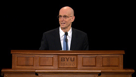 "Thumbnail for entry President Henry J. Eyring ""Preparing to Lead"""
