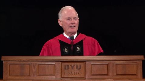 "Thumbnail for entry Elder Kim B. Clark - ""Live and Teach the Truth"""