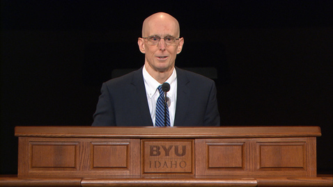 "Thumbnail for entry President Henry J. Eyring - ""No Greater Time in History"""