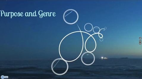Thumbnail for entry Purpose and Genre