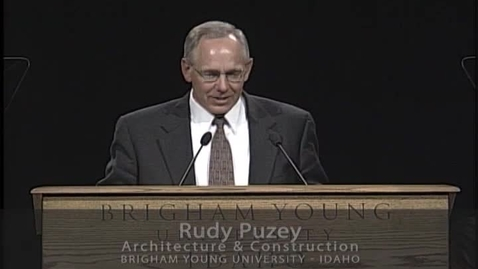 """Thumbnail for entry Rudy Puzey """"The Voice of the Good Shepherd"""""""