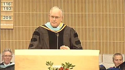 Thumbnail for entry Elder Paul V. Johnson - Education & Human Development Convocation Remarks