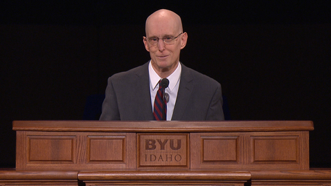"Thumbnail for entry President Henry J. Eyring - ""Not Blind Faith, but Big Faith"""
