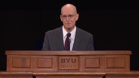 "Thumbnail for entry President Henry J. Eyring - ""Not Blind Faith, but Big Faith"""