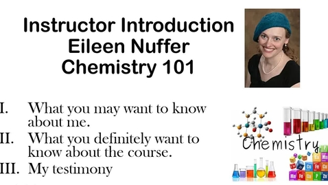 Thumbnail for entry Introductory video Eileen Nuffer