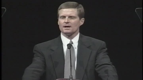 """Thumbnail for entry David A. Bednar """"Ye are the Temple of God"""""""