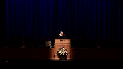 "Thumbnail for entry Vern P. Stanfill ""Agriculture & Life Sciences College Convocation Remarks"""