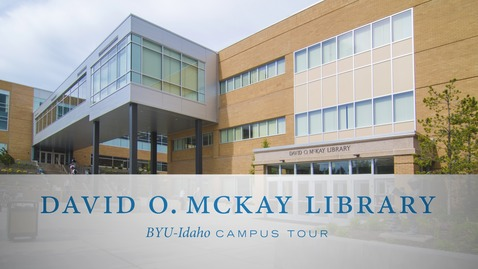 Thumbnail for entry McKay Library