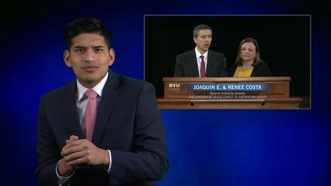"""Thumbnail for entry ASL: Elder Joaquin E. and Sister Renee Costa - """"Things We Wish We Had Known in College"""""""