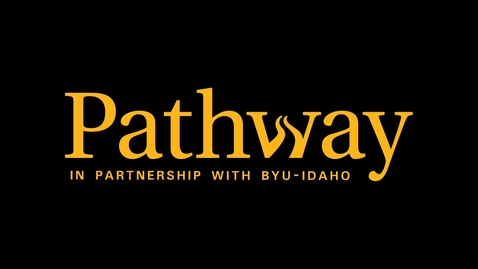 Thumbnail for entry Pathway Training: Student Matriculation