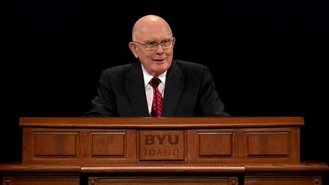 "Thumbnail for entry Dallin H. Oaks ""Witnesses of God"""