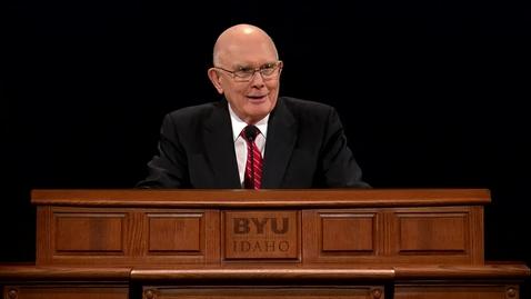 """Thumbnail for entry Dallin H. Oaks - """"Witnesses of God"""""""