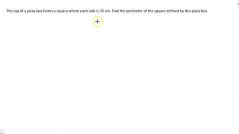 Thumbnail for entry Lesson 4 - Perimeter of a Rectangle #1