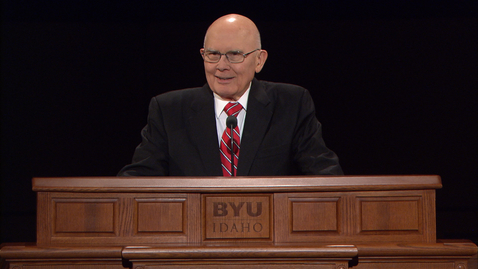 """Thumbnail for entry President Dallin H. Oaks - """"The Paradox of Love and Law"""""""