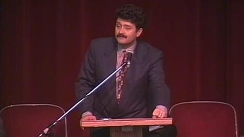 Thumbnail for entry University Forum 1994 - Michael Medved