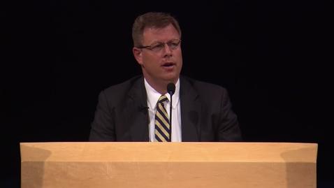 """Thumbnail for entry Clark G. Gilbert """"Education Week 2015 Remarks"""""""