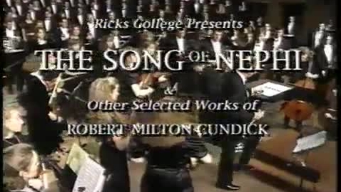 Thumbnail for entry Songs Of Nephi 1995