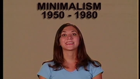 Thumbnail for entry Minimalism 1950-2000