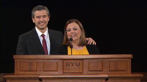 """Thumbnail for entry Elder Joaquin E. and Sister Renee Costa - """"Things We Wish We Had Known in College"""""""