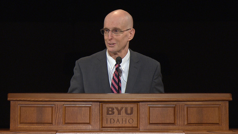 "Thumbnail for entry President Henry J. Eyring - ""Rising Above Opposition"""