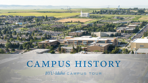 Thumbnail for entry History of BYU-Idaho